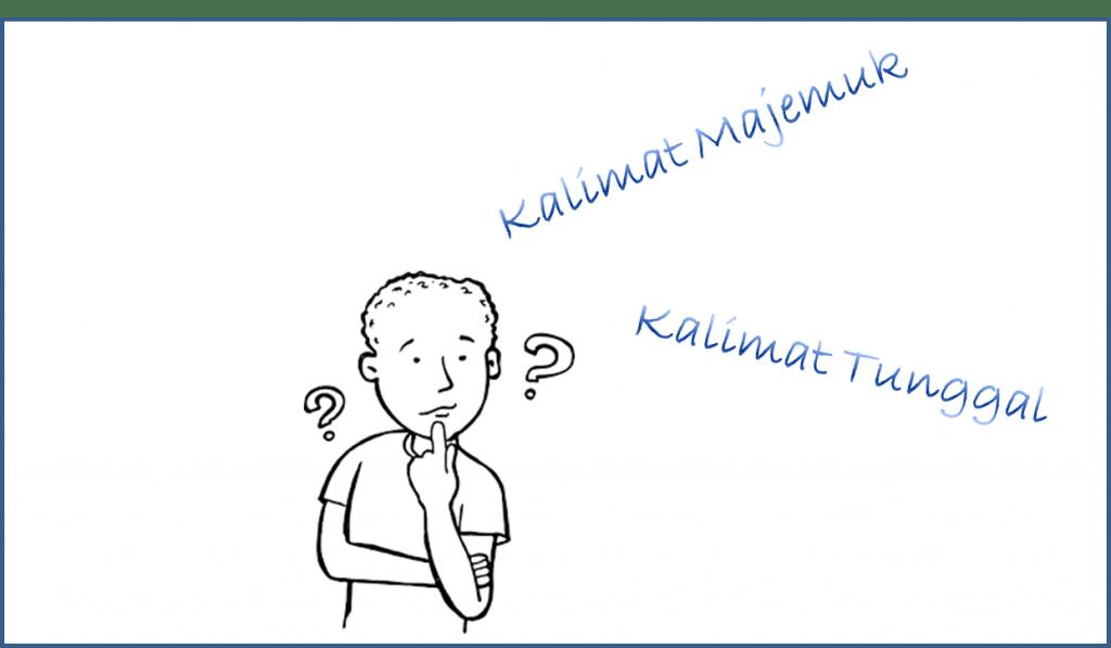 Contoh Kalimat Majemuk dan Kalimat Tunggal Bahasa Indonesia